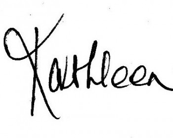 Kathleen only signature